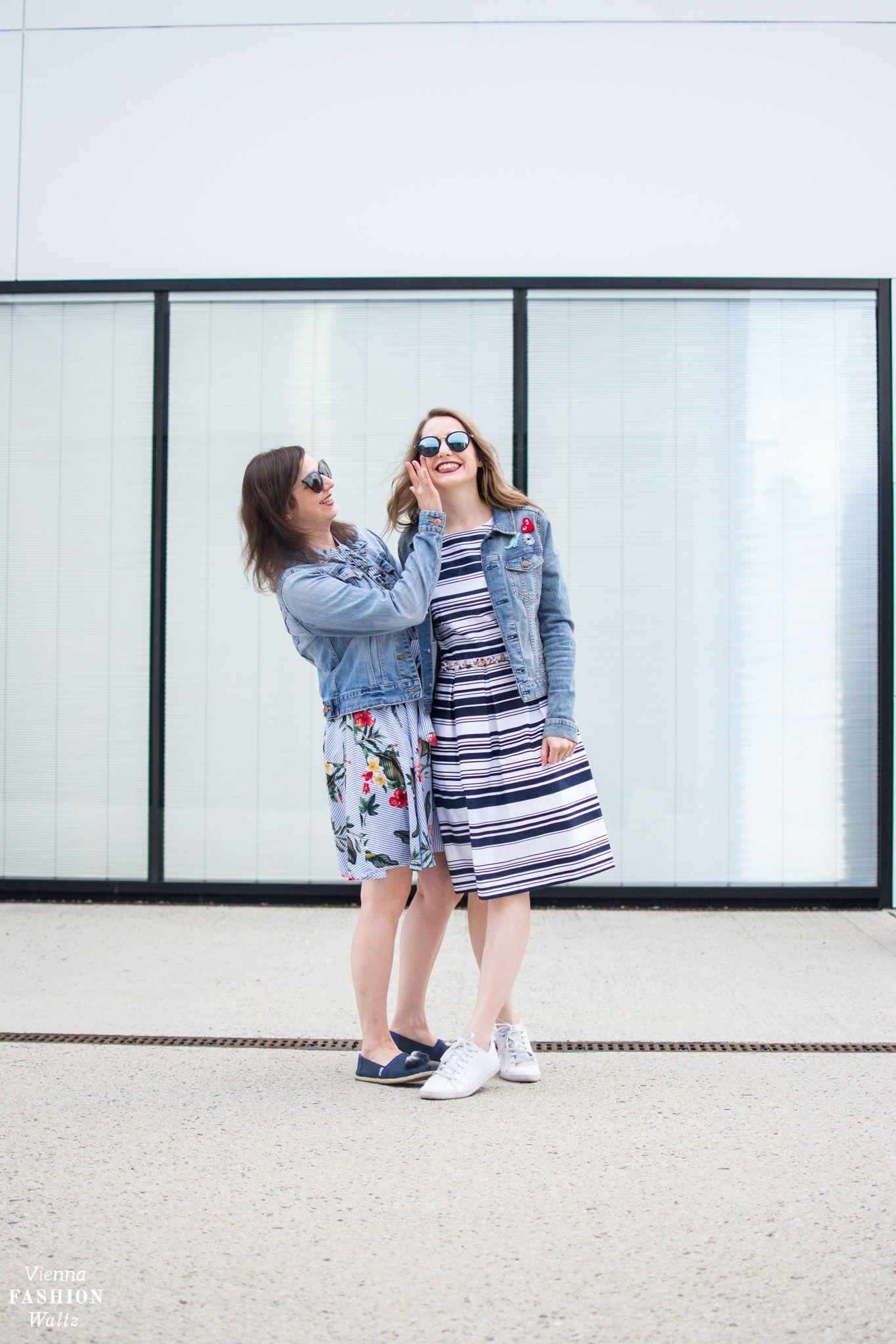 Das perfekte Sommer Outfit mit Streifenrock und bequemen