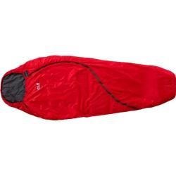 Photo of Jack Wolfskin sleeping bag Smoozip +3, size one size in red Jack WolfskinJack Wolfskin