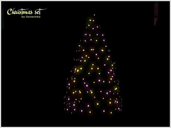 Sims 3 Christmas Tree.Severinka S Christmas Garland Large Sims 3 Christmas