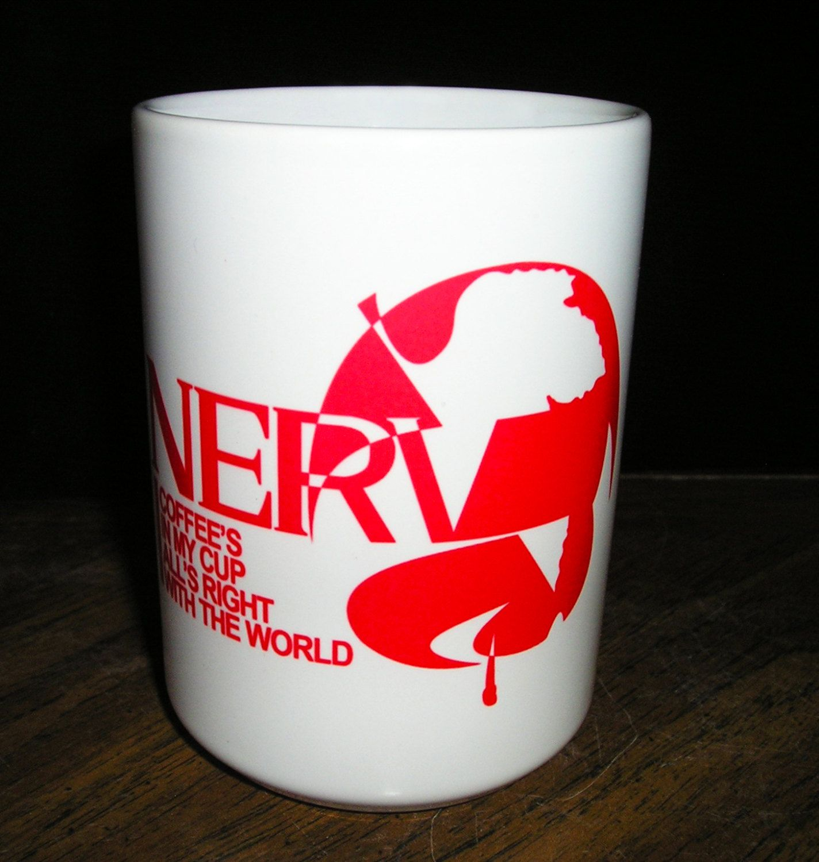 Evangelion New NERV Mug Cup White japan import
