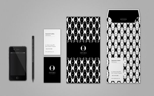 Optima Clinique Visual Identity on the Behance Network