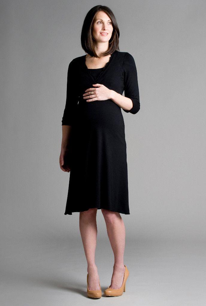 3994d29c1ad Chic V Neck Nursing   Maternity Dress by Charlotte Keating ENGLAND ...