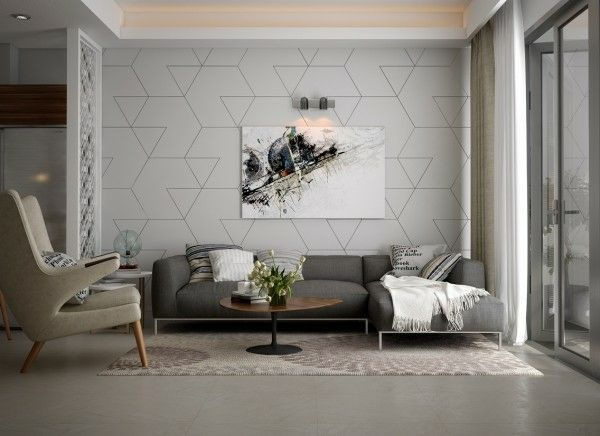 Le séjour moderne - 26 exemples de design contemporain