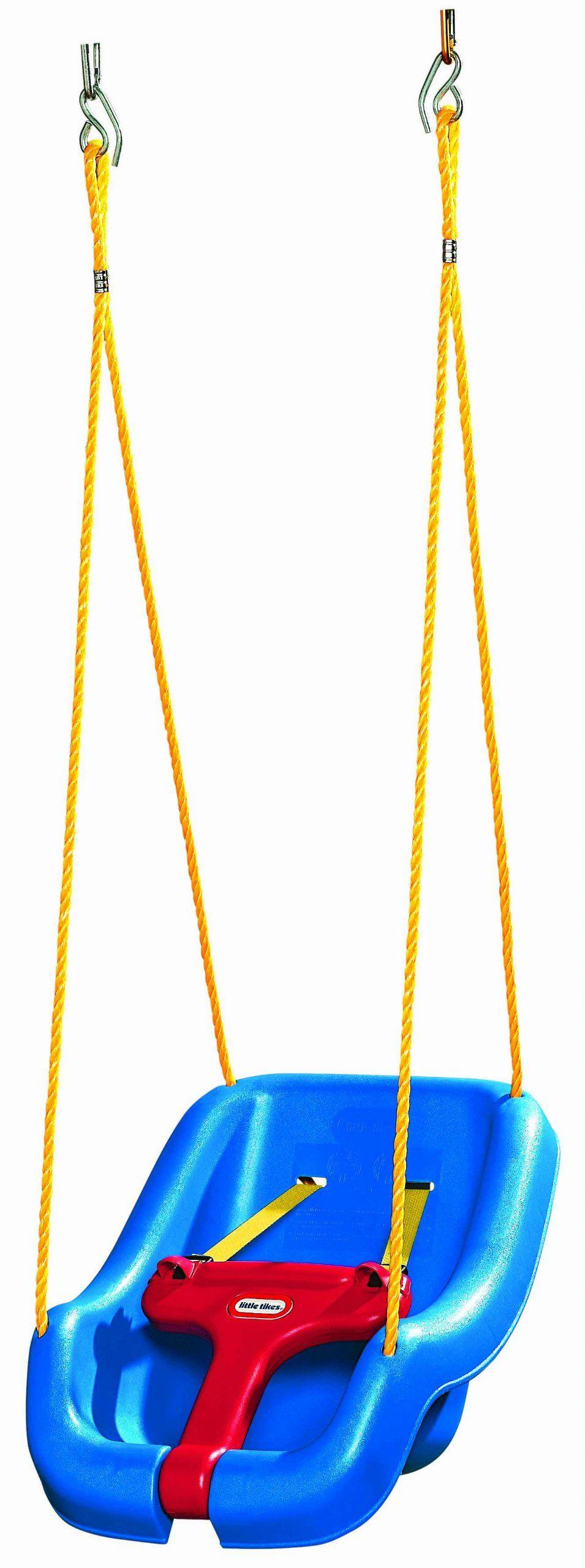 Amazon little tikes in snug un secure swing blue toys