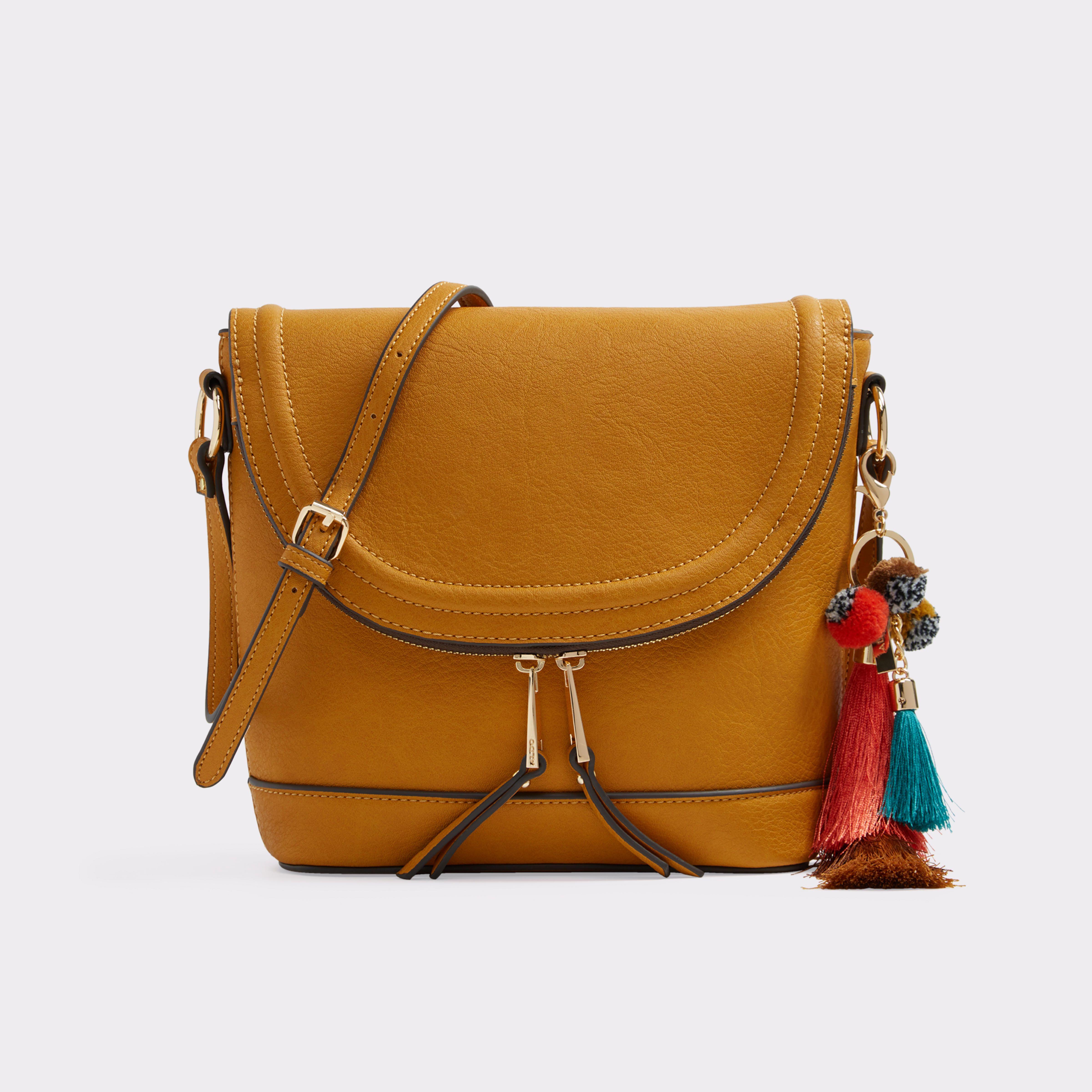 89b787d754 Derovina Mustard Women's Crossbody | ALDO US | Fashion Shoes Call It ...