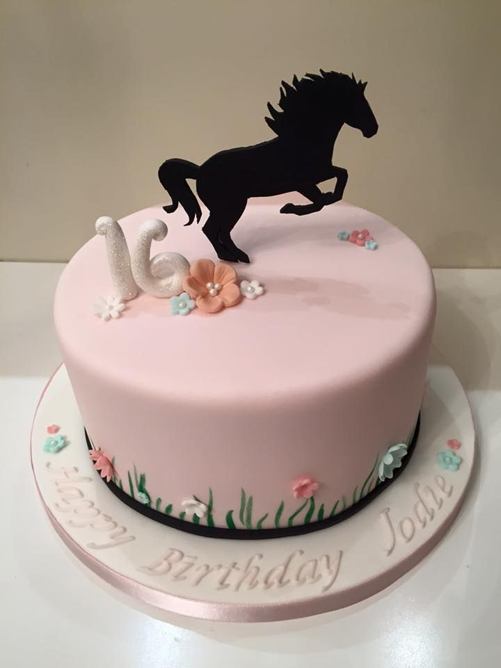16th Birthday Cake Horse With Images 16 Birthday Cake Horse