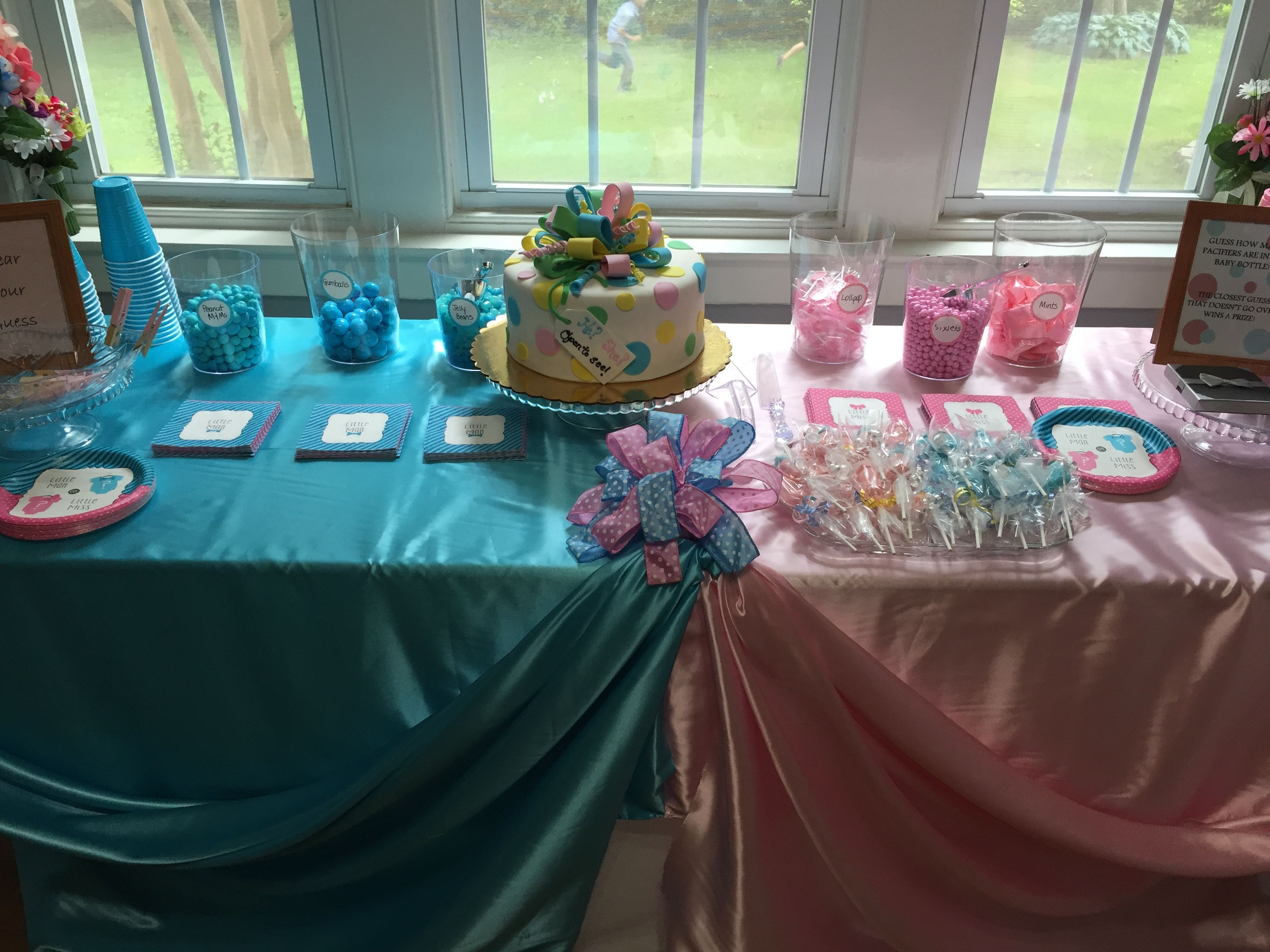 Gender Reveal Party Decorations Party Games & Cakes