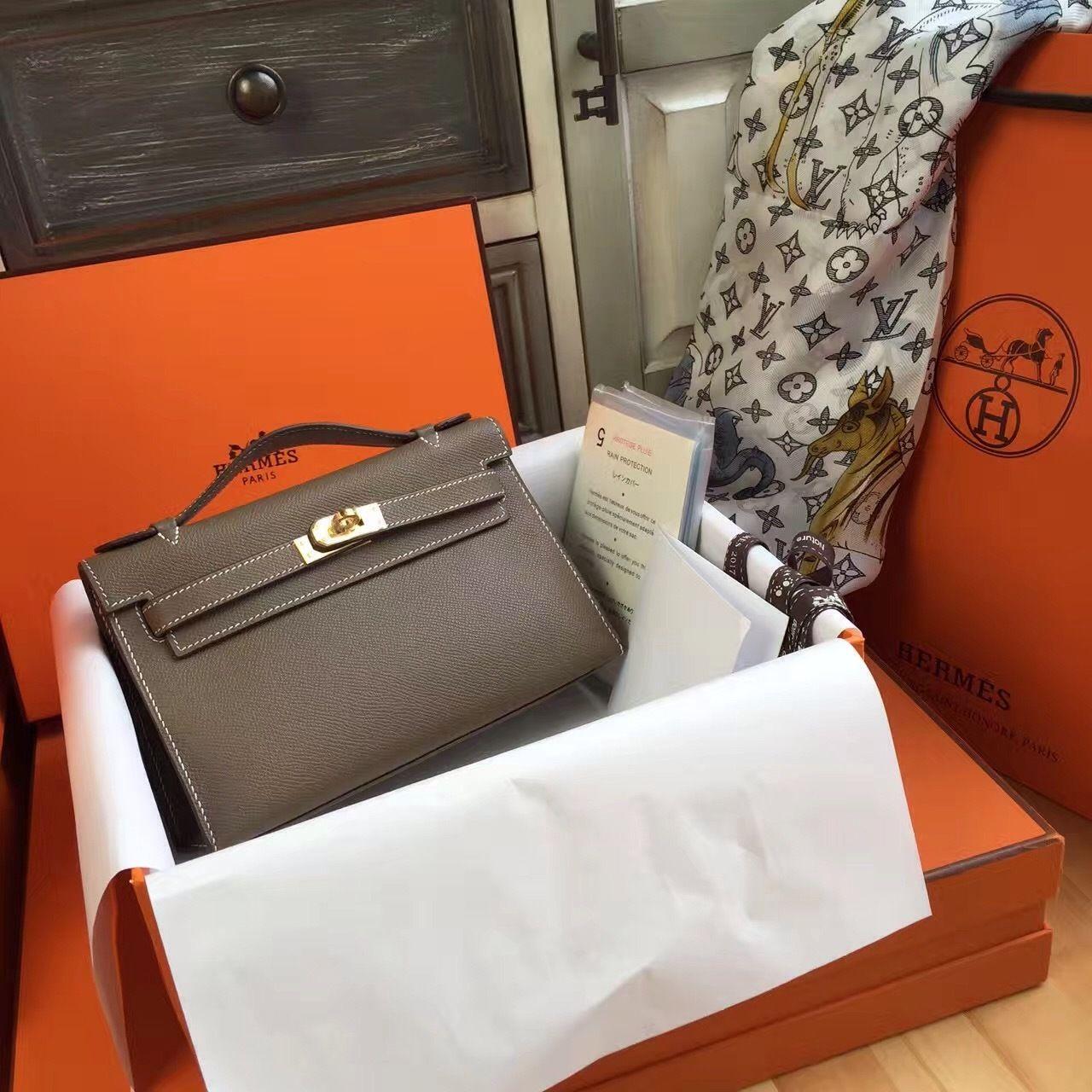 ... release date hermès 18 etoup mini kelly pochette epsom leather gold  hardware 909e7 d2589 sweden hermes lindy ... b9d374aa78