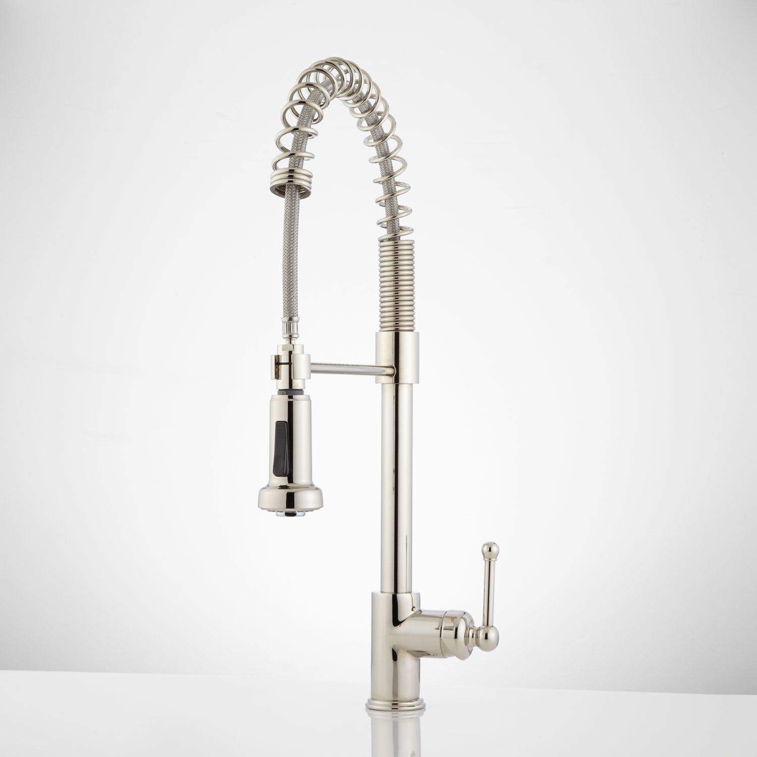 Rachel Pull Down Kitchen Faucet With Spring Spout Polished