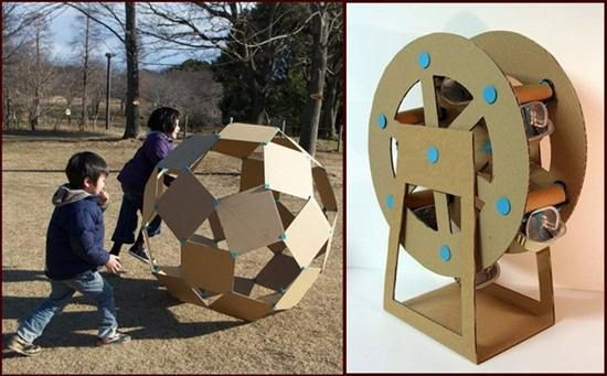 20 magical and creative DIY cardboard toys.   Crafts   Pinterest ...