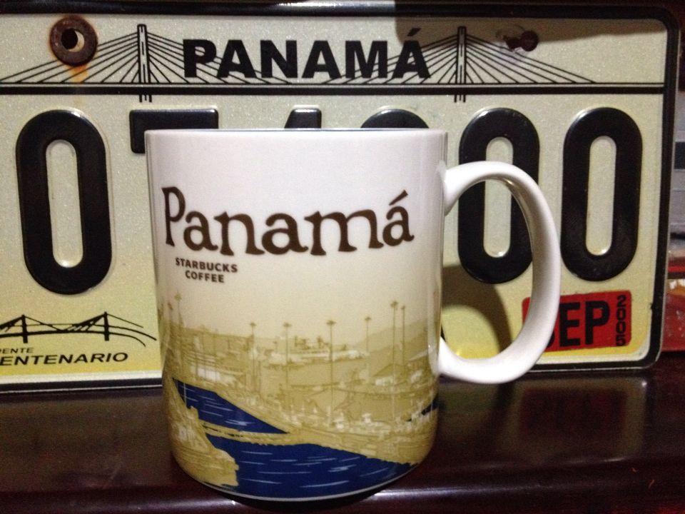 New Ciudad Panama Starbucks global icon mug Collection