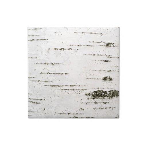 Birch Bark Ceramic Tile Zazzle Com Birch Bark Ceramic Tiles