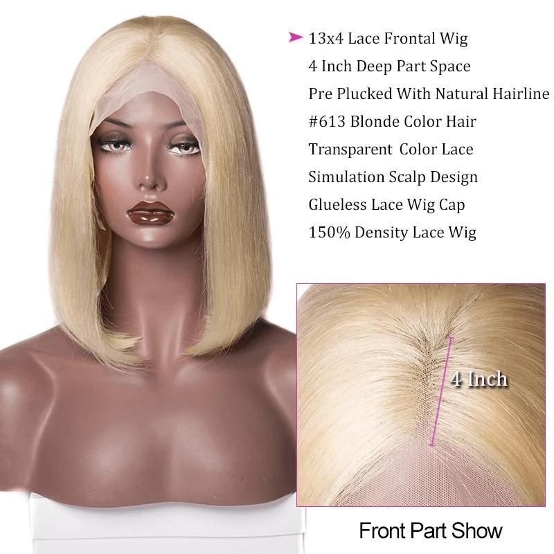 Product Features Brand Name Sofeel Hair Texture Straight Material 100 Human Hair Hair Color 613 Lace Wig Type In 2020 Blonde Lace Front Wigs Wigs For Sale Wigs