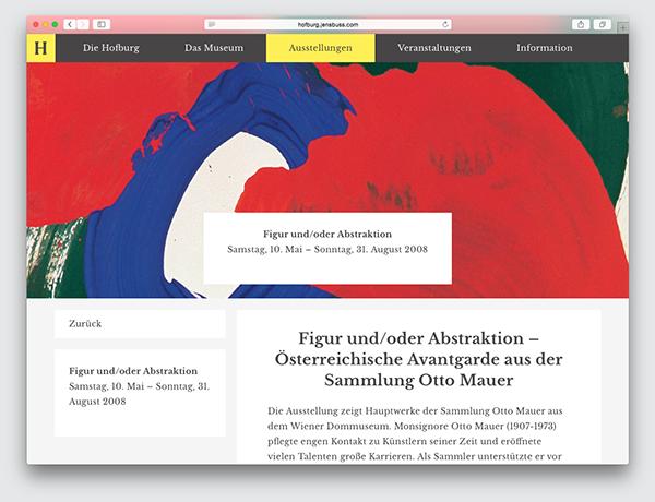 http://www.webdesignserved.com/gallery/Hofburg-Museum-Website/22517731