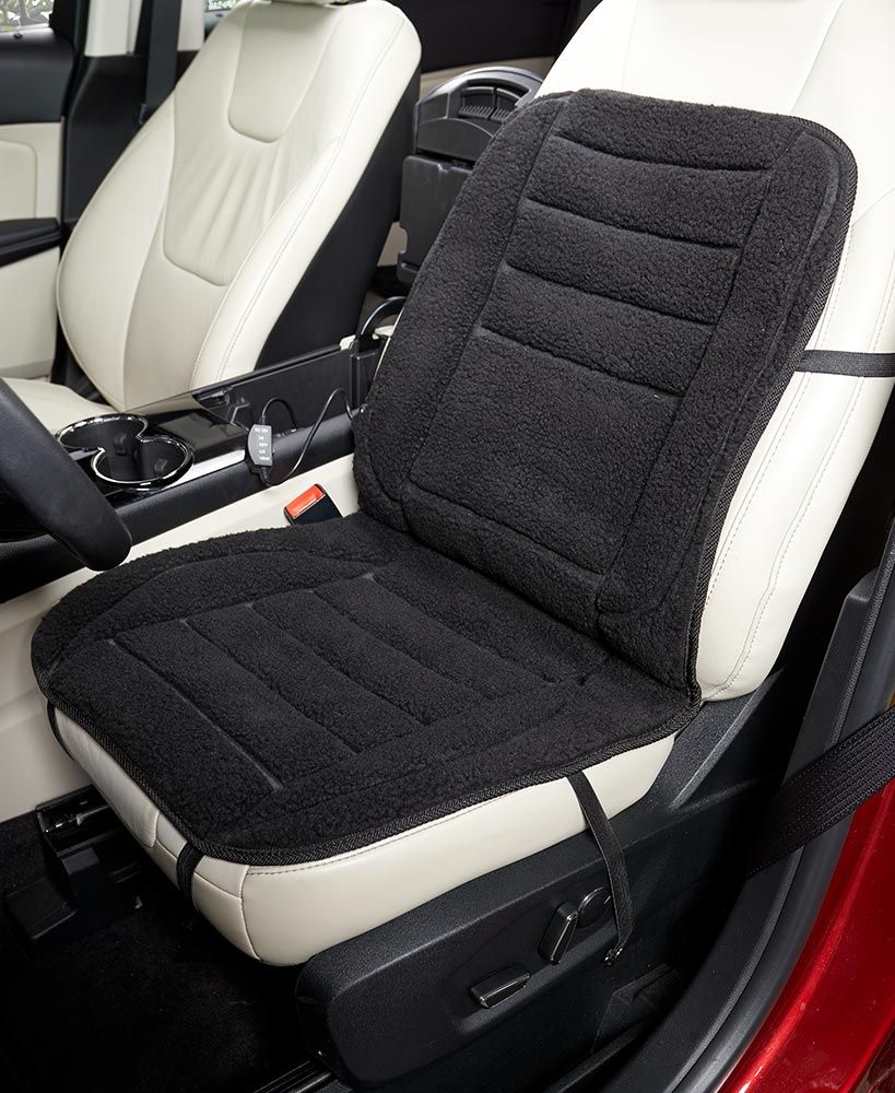 Sherpa Heated Car Seat Covers Heated car seat covers