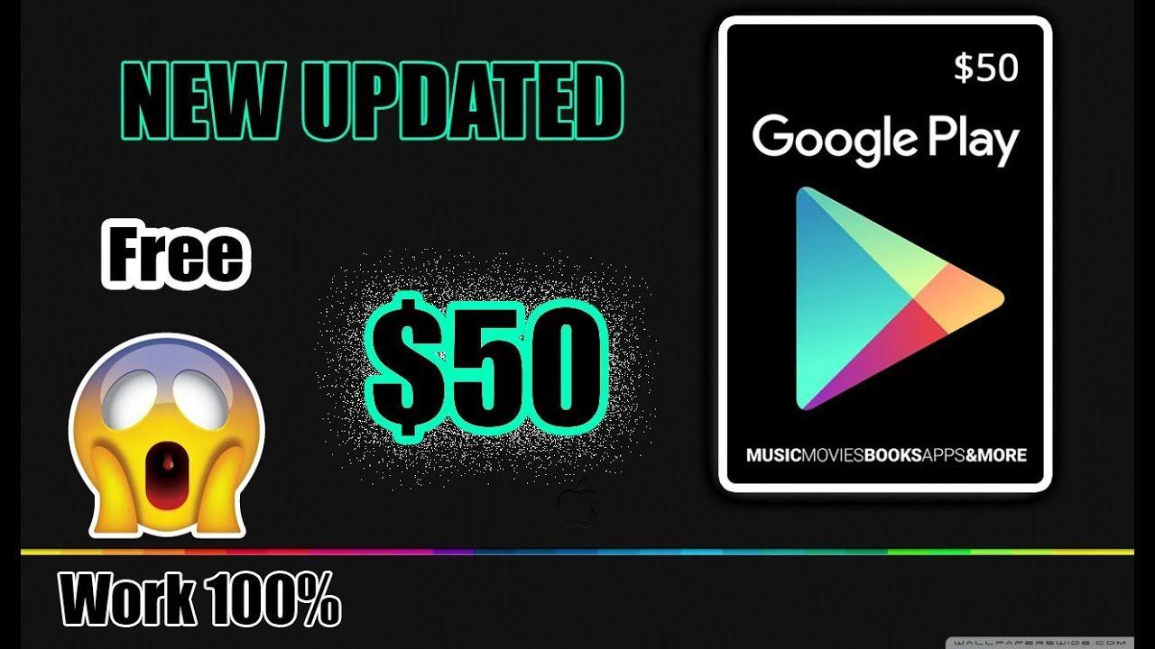 *BEST LEGITIMATE METHOD*Free Google Play Codes Generator