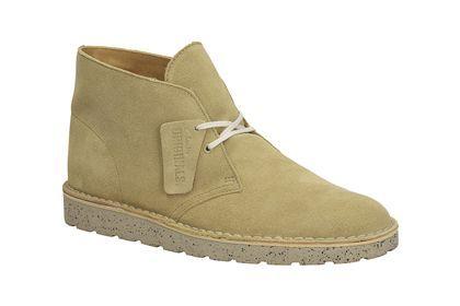 Mens Originals Boots - Desert Aerial in Maple Suede from Clarks shoes