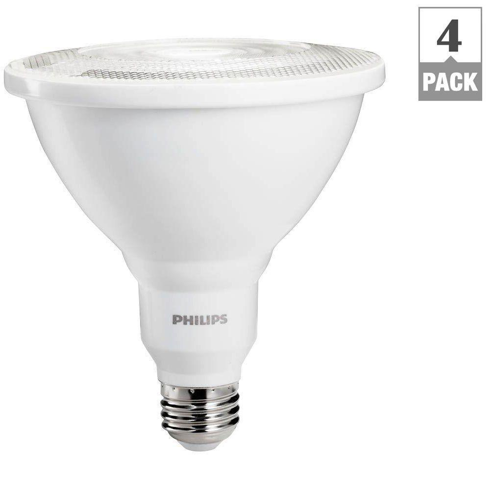 Philips 100W Equivalent Daylight PAR38 Ambient LED Indoor/Outdoor ...