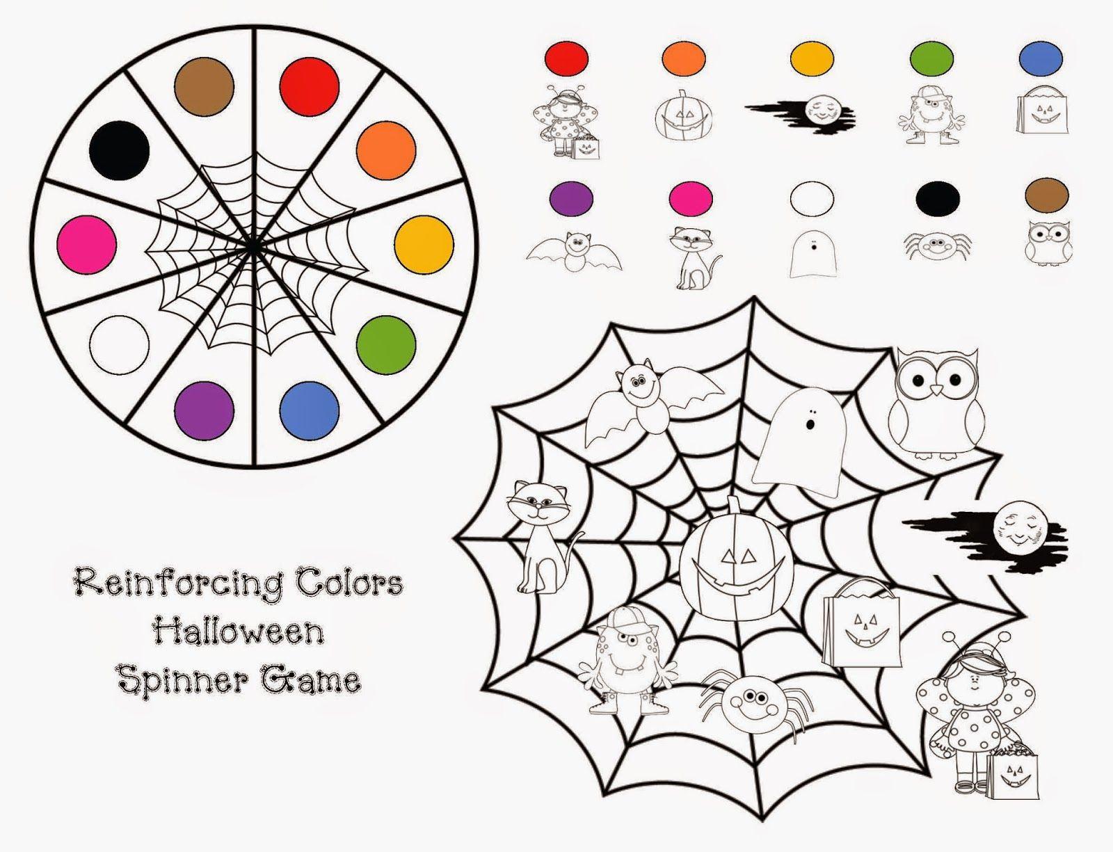 Common Core Halloween Colors Activity Packet | Halloween ...