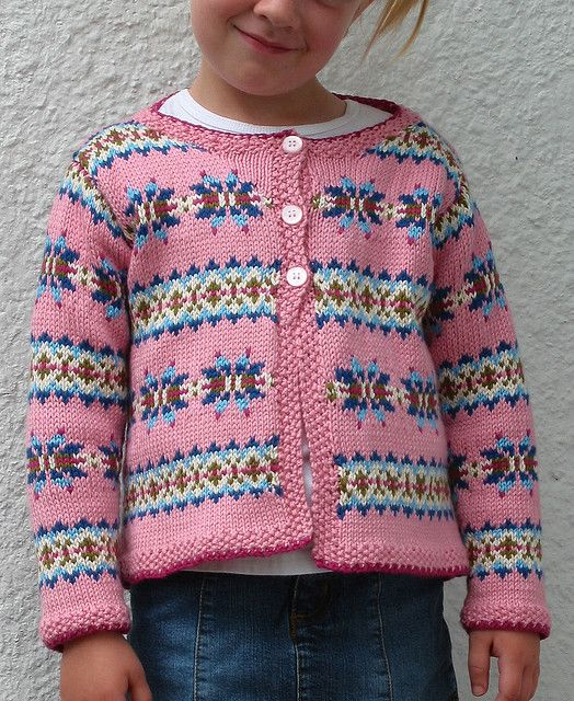 Ravelry: Fair Isle Cardigan pattern by Debbie Bliss | Knitting ideas ...