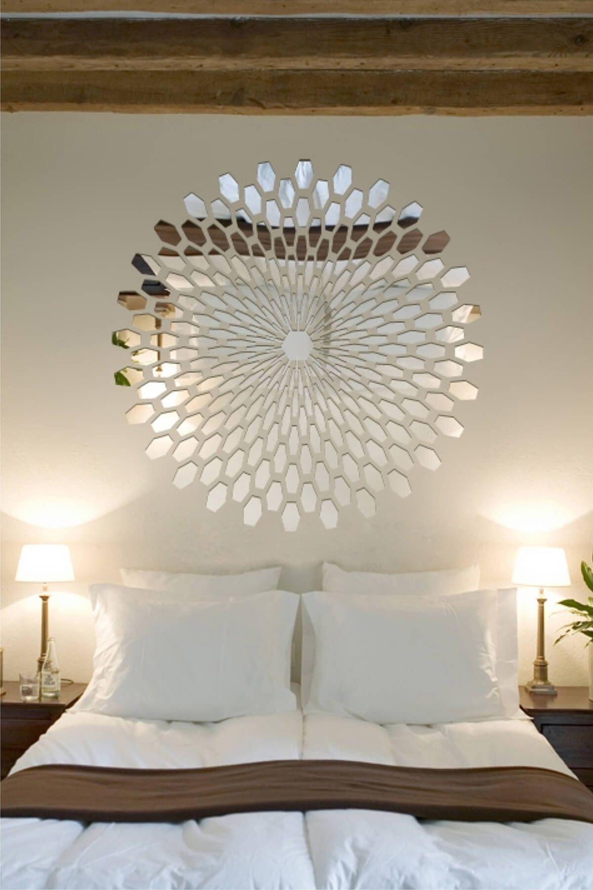 45 Mirror Decoration Ideas To Brighten Your Home Home Decor Decor Home Bedroom Bedroom wall decorating ideas
