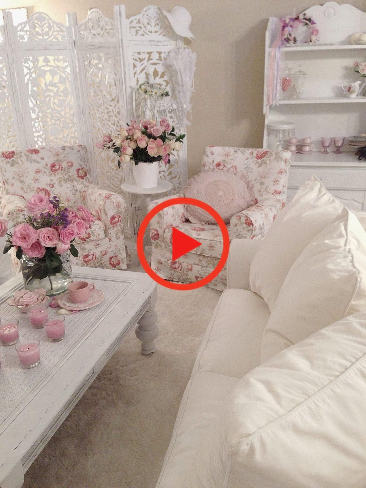 Photo of Romantic shabby chic bedroom decorating ideas