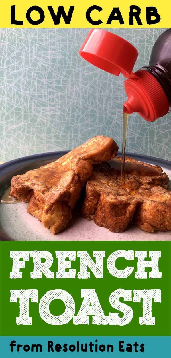 Low Carb Keto Cloud Bread French Toast - Carb Keto Cloud Bread French Toast -
