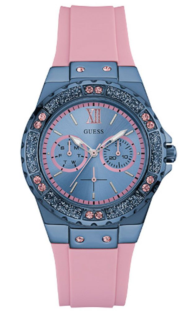 d8a4ab8c05e1 Reloj Guess Multifunción mujer Limelight W0775L5