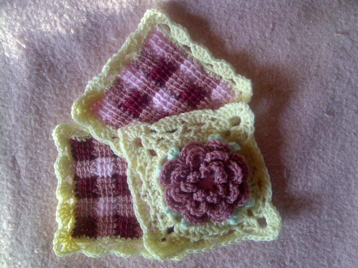 10 Flower Granny Square Crochet Patterns to Stitch | Flower granny ...