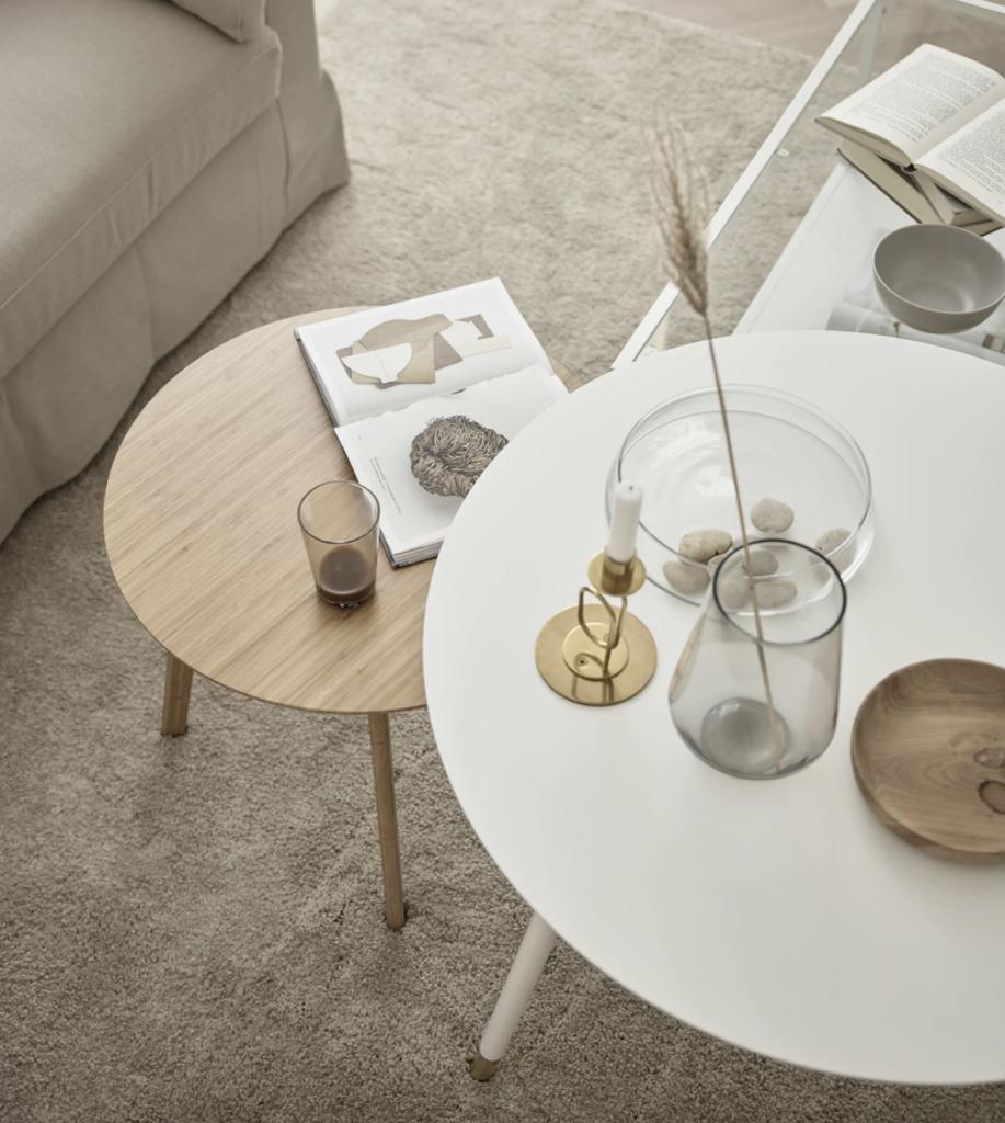 Beige Living Room Of Susanna Swegen Coco Lapine Design Beige Living Rooms Living Room Coffee Table [ 1024 x 917 Pixel ]