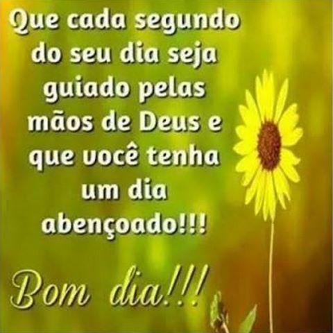 Bom Dia Que Seja Abençoado Por Deus Fé Deusnocomando Zn