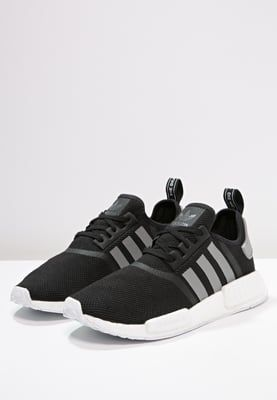 adidas originals nmd_r1 sneakers core black solid grey white
