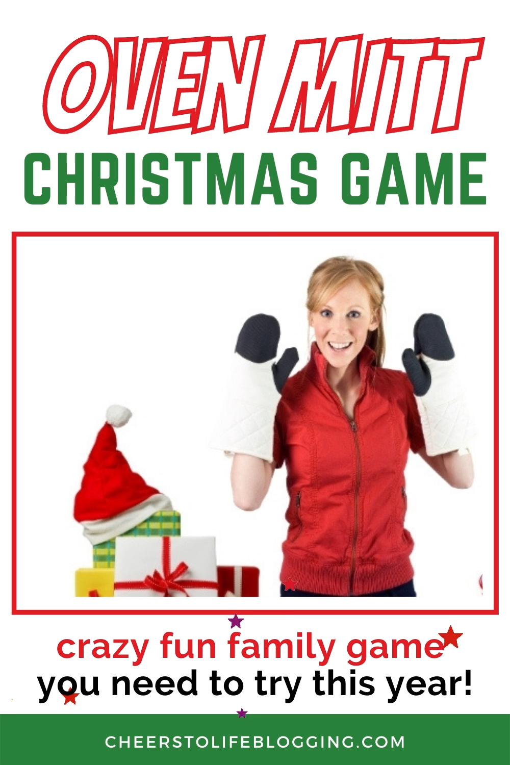 Best Christmas Party Game for Adults - Oven Mitt Game