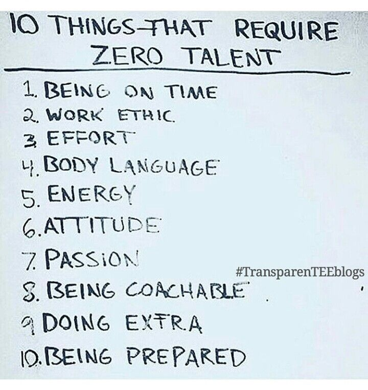 10 Things That Require Zero Talent Meaning You Only Have To Be