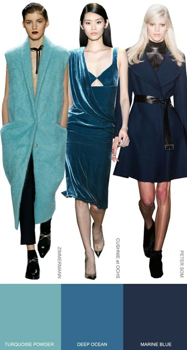 Trendfarben Herbst 2015 : farbpalette herbsttyp trendfarben herbst winter 2014 2015 modetrends mode und wintertrends ~ Watch28wear.com Haus und Dekorationen