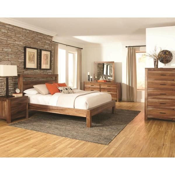 Manning 6-piece Bedroom Set (Manning 6 PC Queen Bedroom Set), Brown ...