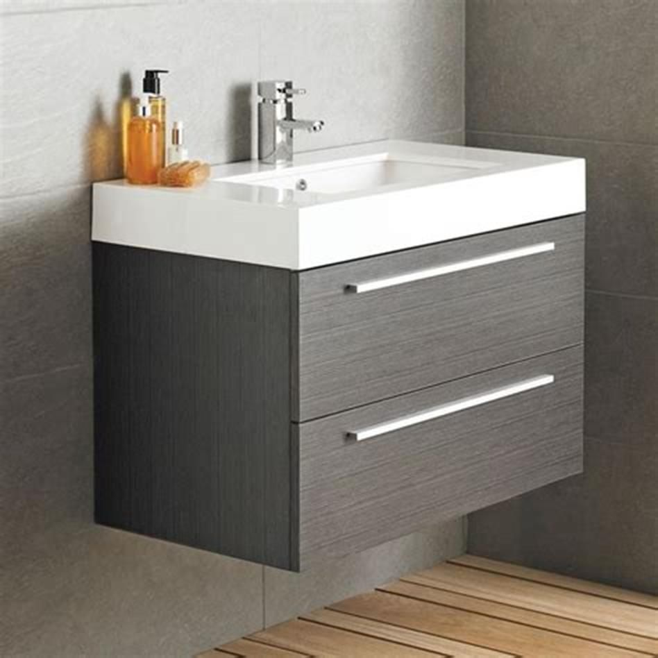 3 Best Wall Mounted Vanities For Small Bathrooms 3 3 in 3
