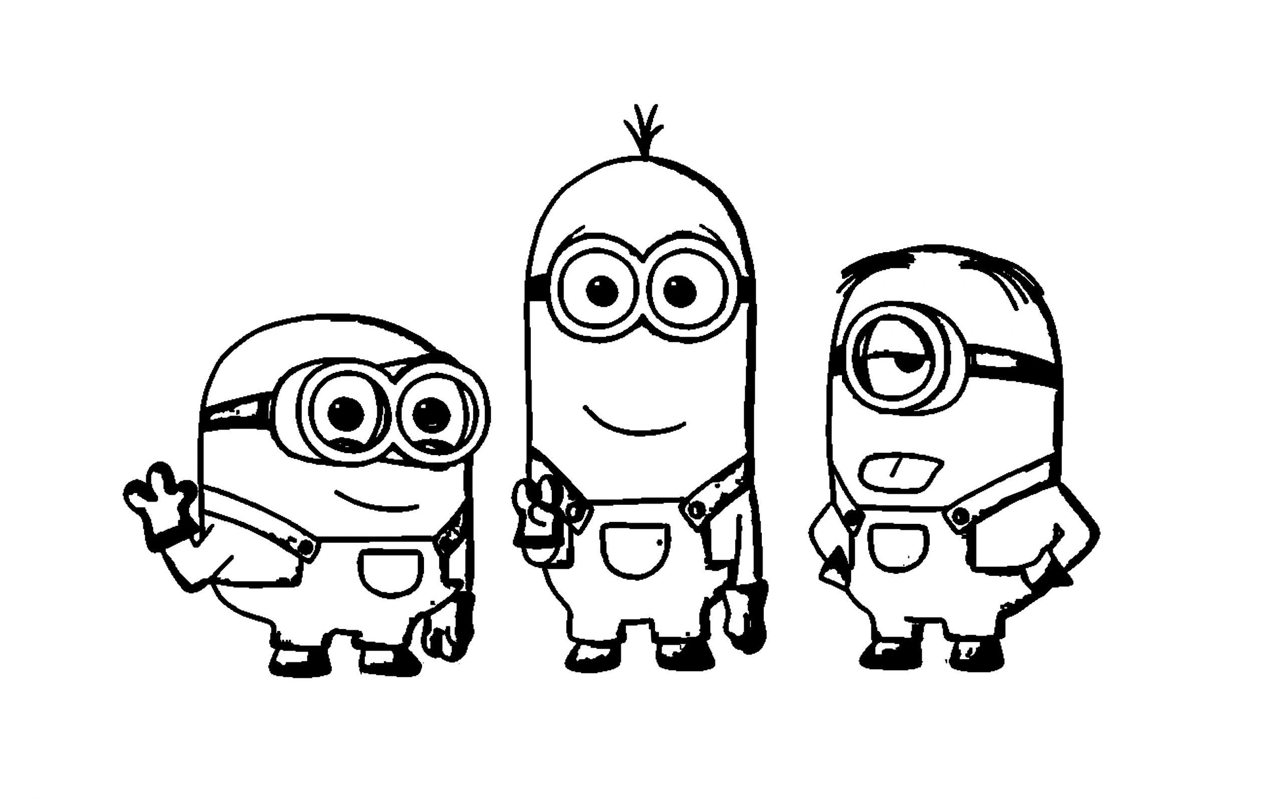 Besorgnis Minions Gratis In 2020 Minions Coloring Pages Vault Boy
