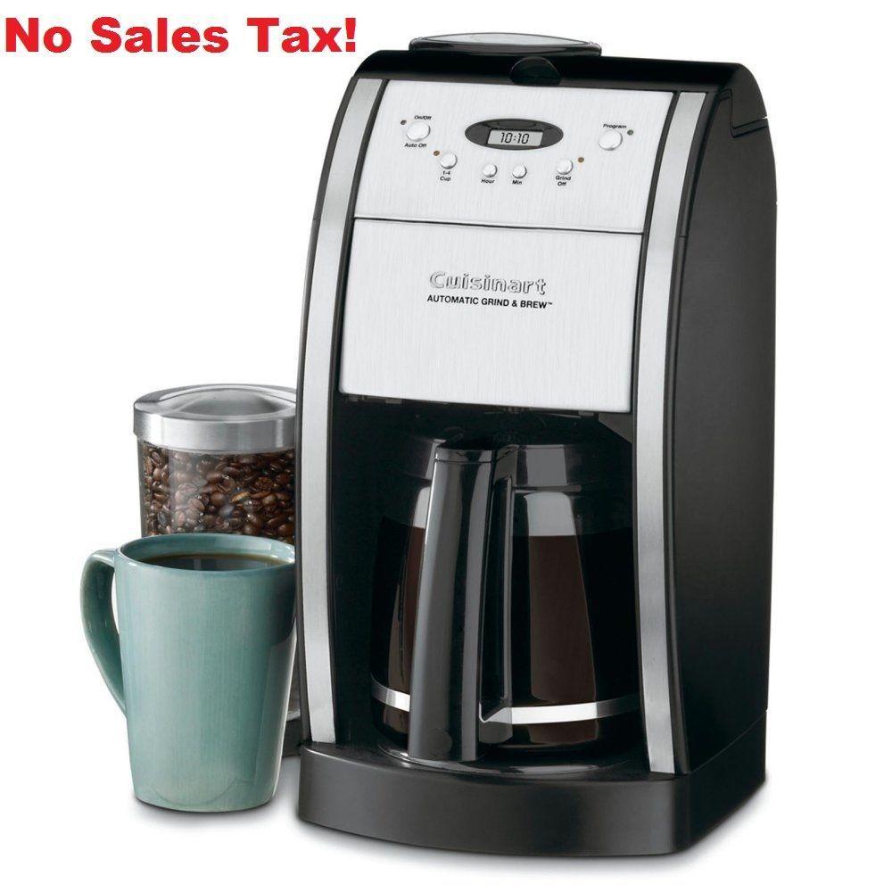 Coffee maker machine grinder brewer programmable espresso