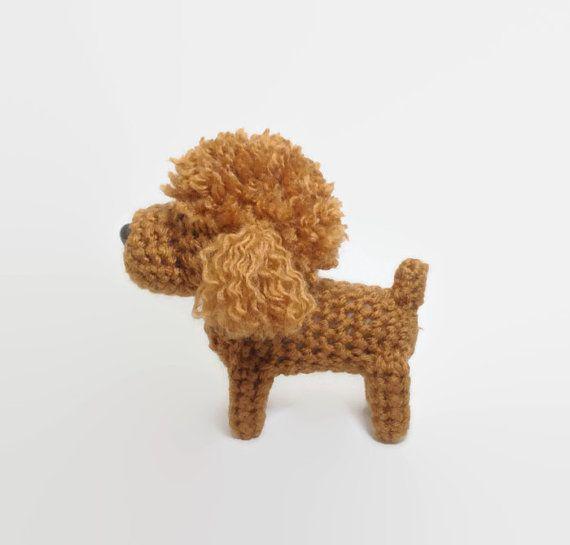 Poodle Amigurumi Dog Handmade Crochet Puppy Stuffed by Inugurumi ...
