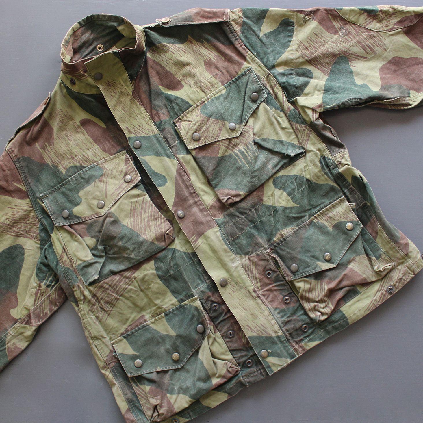 c8353ec19bbe4 1956 Belgian Army Para Jacket | Vintage (Military) in 2019 | Army ...