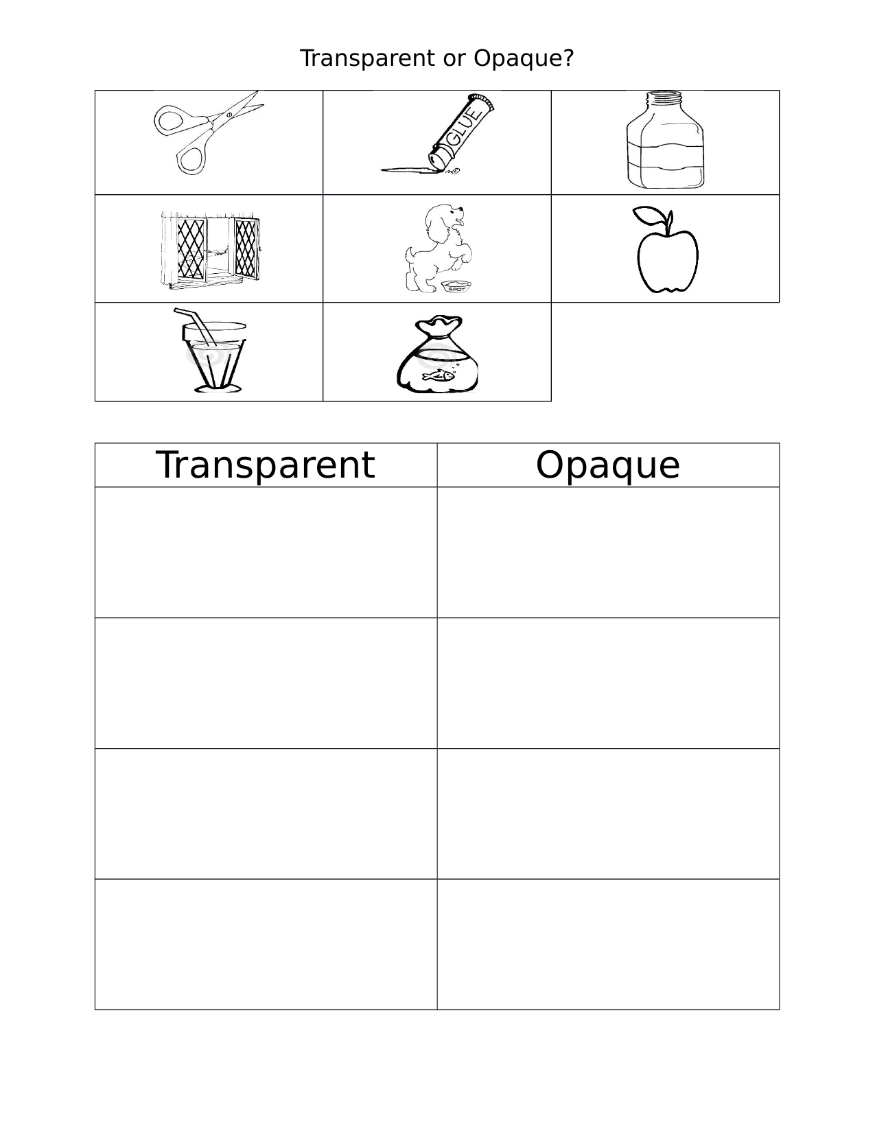 Transparent And Opaque Resource Preview