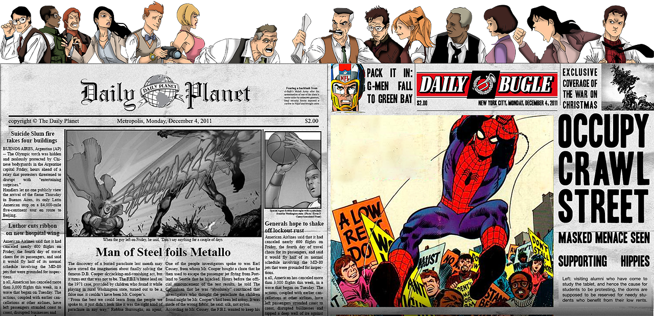 Daily Planet Vs Daily Bugle By Contestofchampions Planets Man Of Steel Comic Book Cover