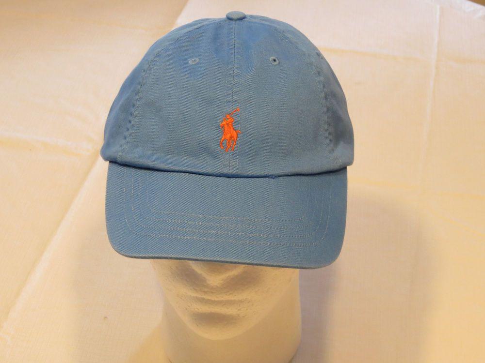 f42cb365901b7f Mens Polo Ralph Lauren hat cap golf casual Blue 4331009 adjustable classic…