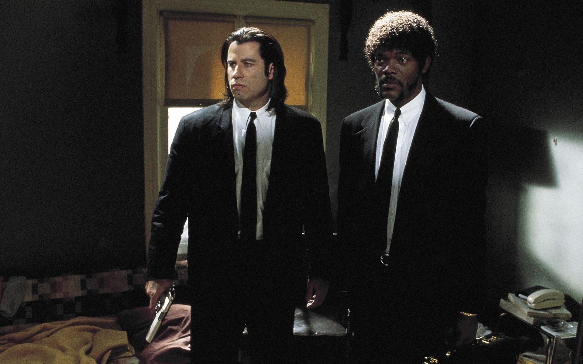 Kriminalnoe Chtivo Rulp Fiction Dzhon Travolta John Travolta Semyuel L Dzhekson Samuel L Jackson Pulp Fiction Nicolas Cage Movies