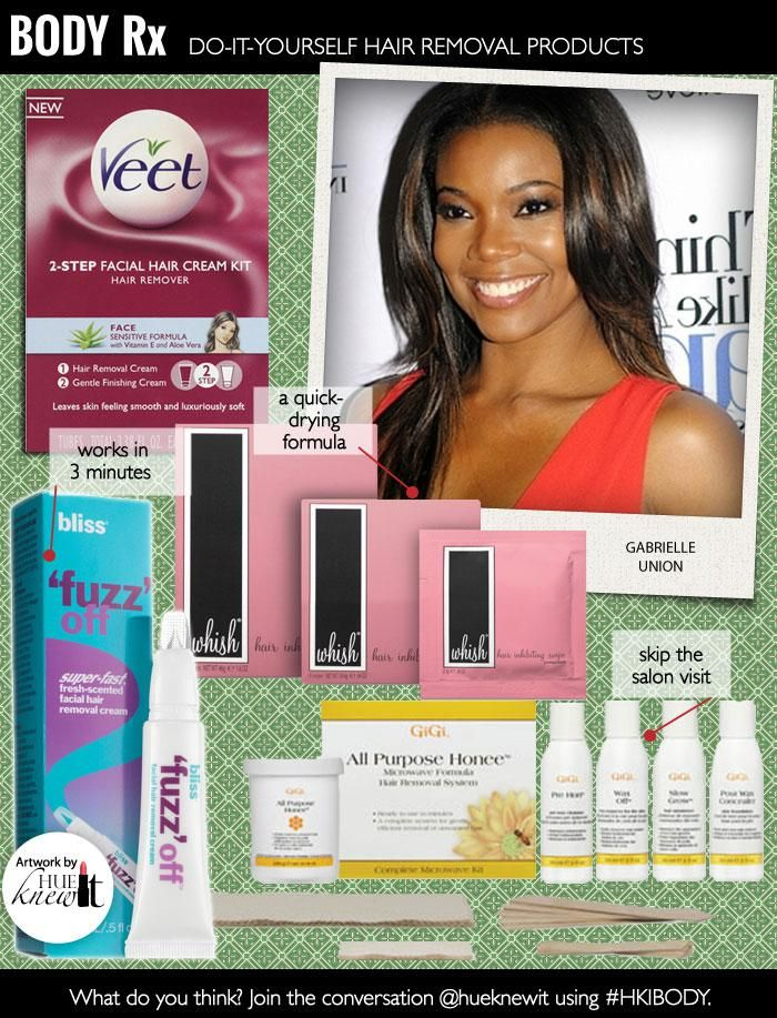 Veet 2 Step Facial Hair Cream Kit Featured In Body Rx Do It
