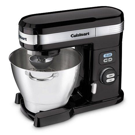 Cuisinart 5 5 Quart Stand Mixer Black At Hsn Com Kitchen Stand Mixers Best Stand Mixer Kitchen Aid