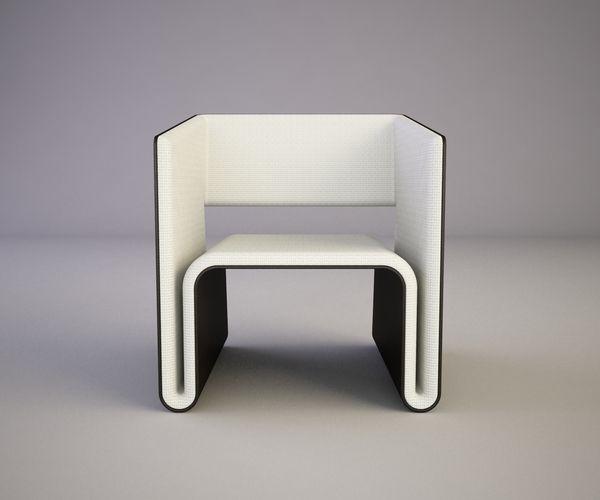 W Chair By Svilen Gamolov, Via Behance