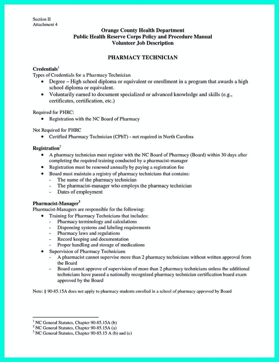 Pharmacy Technician Resume Objectives Cool What Objectives