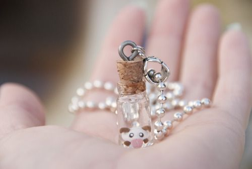 the-elf-merchant:  League of Legends 。☆。 Baby Poro 。☆。 Necklace www.etsy.com/shop/AdorablyGeeky